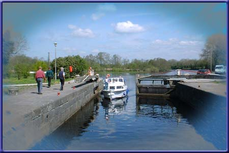 Lough Forbes on The River Shannon for Boat and Cruiser Hire